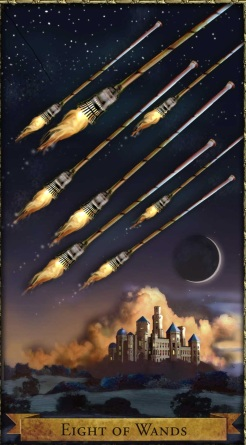 Wizards 8 of Wands