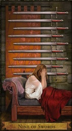 Wizards 9 of Swords