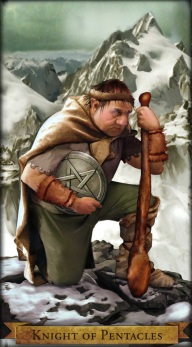 Wizards Knight of Pentacles